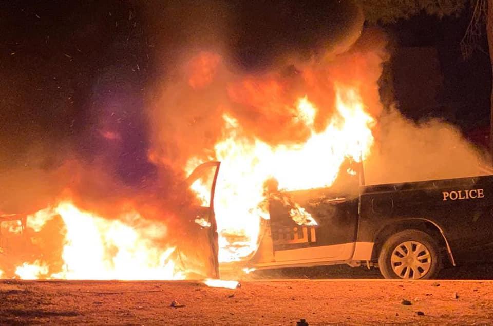 داخلية الوفاق تتهم الجيش باستهداف مقر التدخل السريع بعين زارة