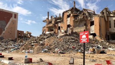 Photo of دعم بريطاني لإزالة مخلفات الحرب في سرت