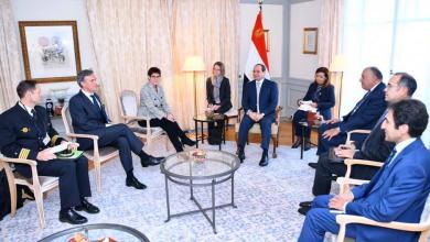 Photo of توافق مصري ألماني بشأن الأزمة الليبية