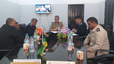 Photo of مدير الأمن الجديد في اجدابيا يتسلم مهامه