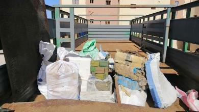 Photo of ضبط 1.5 طن مخدرات جنوب سرت (صور)