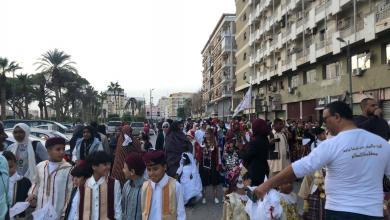 Photo of انطلاق كرنفال ليبيا تحت راية السلام في بنغازي