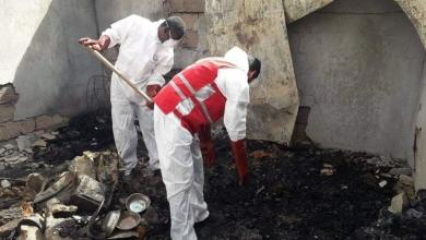"Photo of سبها .. 5 جثث متفحمة إثر حريق بـ ""حي المنشية"""