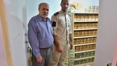 Photo of استمرار عملية توزيع السيولة النقدية على المصارف ببلدية المرج