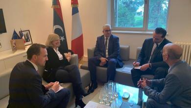 Photo of باشاغا يلتقي السفيرة الفرنسية لدى ليبيا في تونس