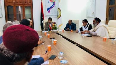 Photo of المجلس البلدي صبراتة يبحث ملف حصر الأسر النازحة