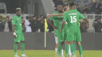 صورة الورفلي يتأهل مع الرجاء لربع نهائي البطولة العربية