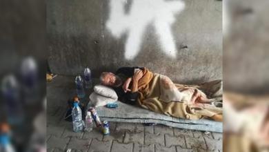 "Photo of حقيقة وجود ""مُشرّد ليبي"" تحت كوبري بتونس"