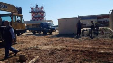 Photo of أعمال صيانة لتأهيل مطار الأبرق
