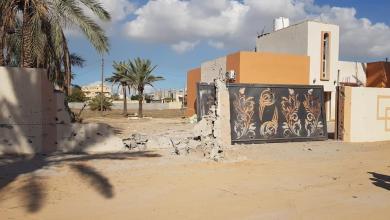 Photo of قذائف عشوائية تسقط على منازل في عين زارة