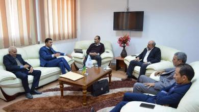 Photo of مناقشة ملف التعليم التقني والفني بمدينة يفرن