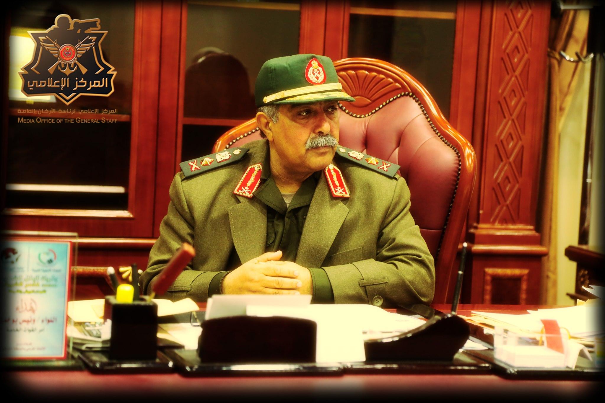 رئيس الأركان العامة للقوات المسلحة الفريق عبدالرازق الناظوري