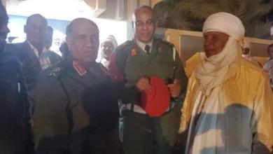 """Photo of سلطان قبيلة التوارق في ليبيا يستقبل اللواء """"الأبعج"""" في البركت"""