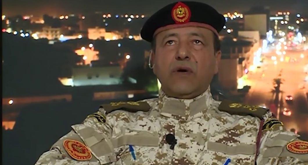 العميد محمد قنيدي - آمر استخبارات التشكيلات المسلحة التابعة لحكومة الوفاق في مصراتة