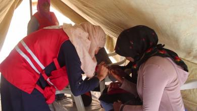 Photo of حملة الهلال الأحمر غات للتوعية بمرض السكري