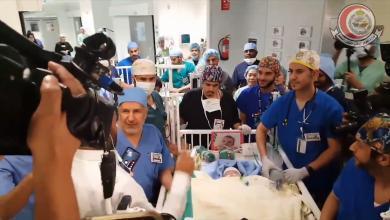 Photo of نجاح عملية فصل التوأم السيامي الليبي