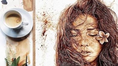 Photo of الرسم بالقهوة.. إبداع لم تشاهده من قبل.. صور