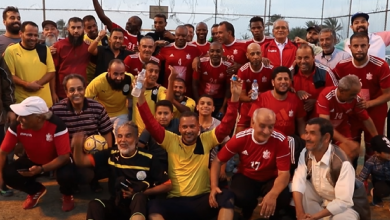 "Photo of الأهلي بنغازي يتقاسم ""فرحة كبيرة"" مع شركة راس لانوف"