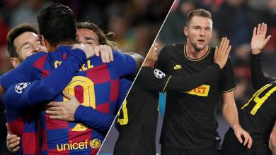 Photo of أبطال أوروبا.. برشلونة يتأهل وإنتر يحافظ على حظوظه