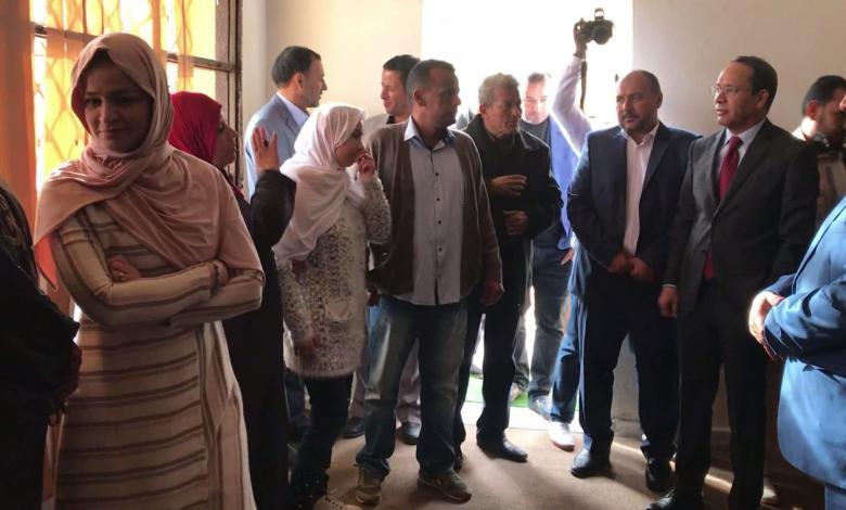 الجميل .. إعادة افتتاح مدرسة للمكفوفين
