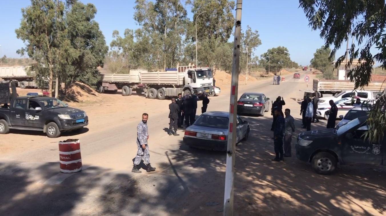 جولة لمديرية أمن صرمان على التمركزات الأمنية جنوبي المدينة