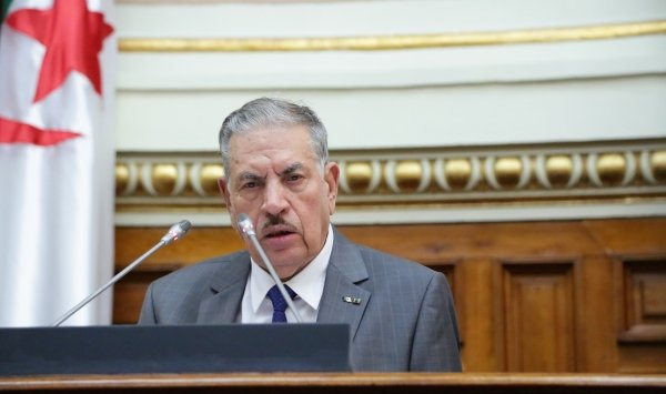رئيس مجلس الأمة الجزائري بالنيابة صالح قوجيل