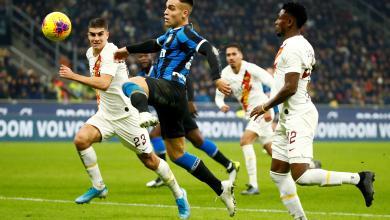 Photo of إنتر ميلانو يتعادل في ملعبه أمام روما