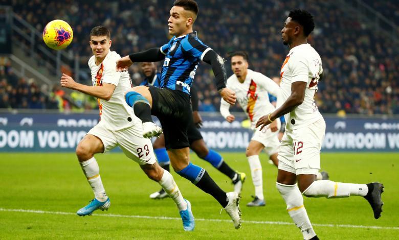 إنتر ميلانو يتعادل في ملعبه أمام روما