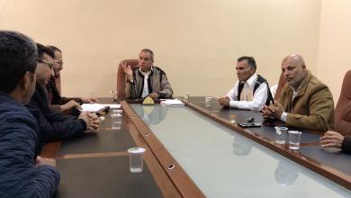 Photo of اجتماع تنظيمي للعمل التطوعي في باطن الجبل