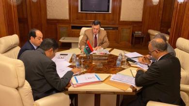 """Photo of السراج يبحث تنفيذ خطة """"التنمية الثلاثية"""""""