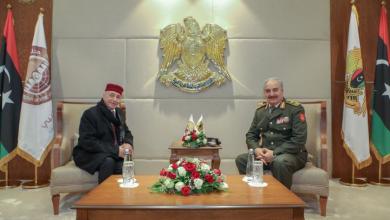 Photo of لقاء تشاوري في مقر قيادة الجيش