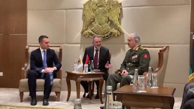 Photo of المشير حفتر يلتقي وزير الخارجية الإيطالي في الرجمة