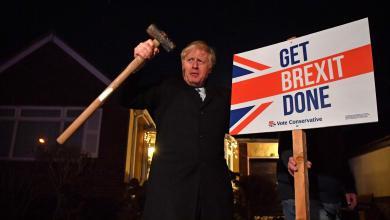 Photo of بريطانيا: فوز المحافظين وجونسون يتعهد بتنفيذ بريكست