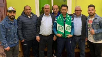 Photo of زيارة إنسانية لرئيس رابطة مشجعي الاتحاد المصراتي