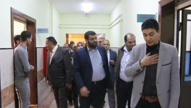 صورة لجنة لتقييم مستشفى الثورة بالبيضاء