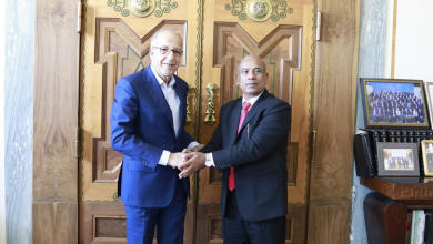 Photo of الصديق الكبير يلتقي سفير بنغلاديش لدى ليبيا