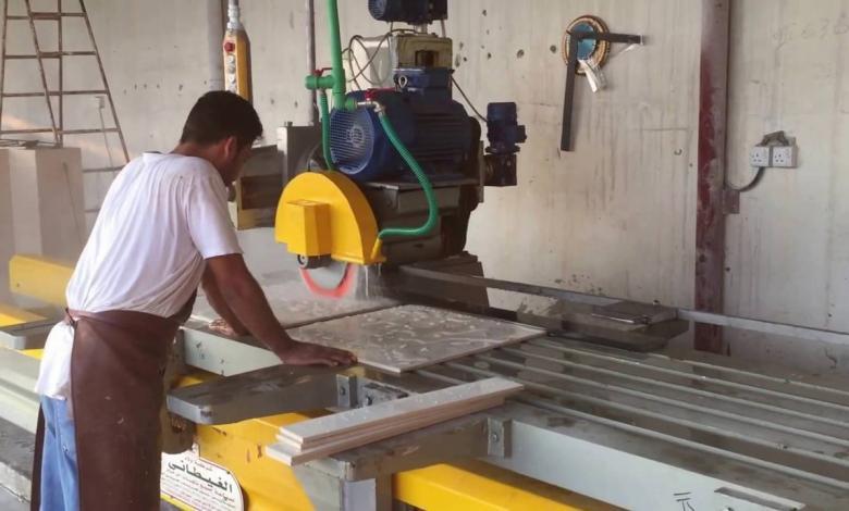 صناعة الرخام