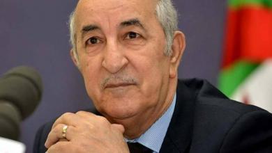 Photo of عبدالمجيد تبون: الوضع الليبي يهدد أمن الجزائر