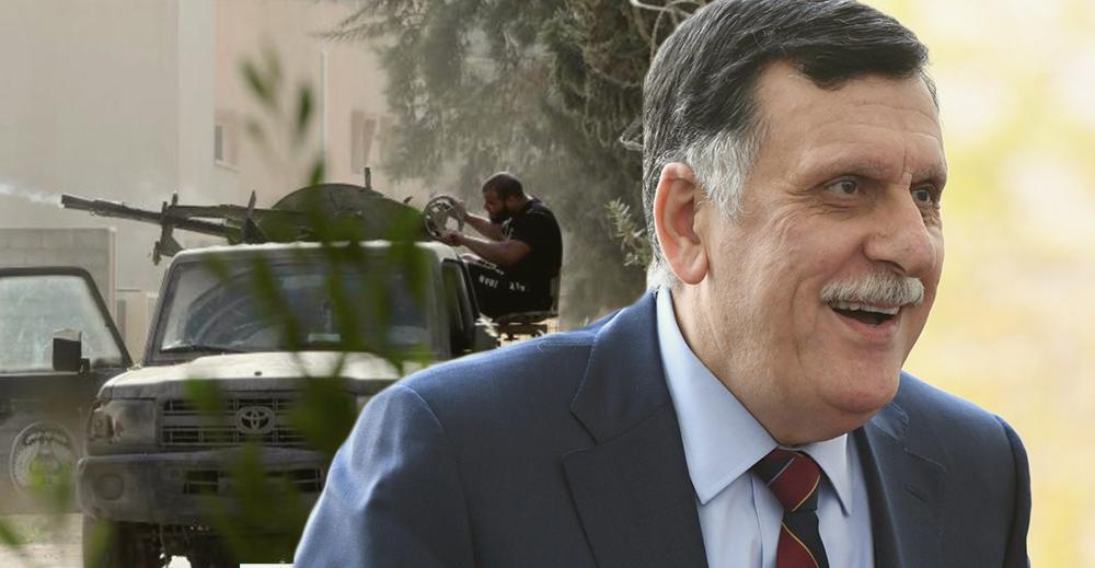 فايز السراج - اشتباكات طرابلس