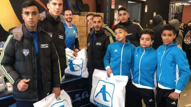 Photo of وصول فريق نادي الجمارك إلى إيطاليا