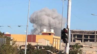 "Photo of ضربات جوية على مقر ""كتيبة الفاروق"""