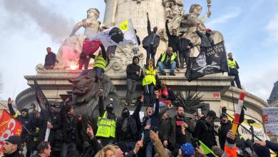 صورة دعوات نقابية للتظاهر في فرنسا بعد فشل المحادثات