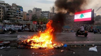 "Photo of لبنان.. توترات أمنية وهجوم بقنابل الـ""مولوتوف"""