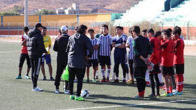 Photo of منتخب الجبل الأخضر يبدأ تدريباته في درنة