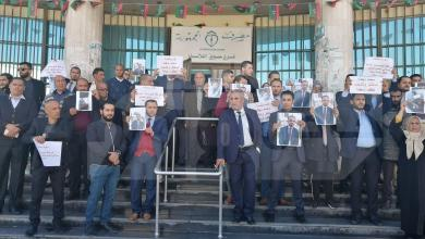 "Photo of موظفو ""الجمهورية"" يتضامنون مع زمليهم المختطف"