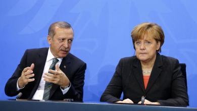 Photo of أردوغان يناقش الملف الليبي مع ميركل