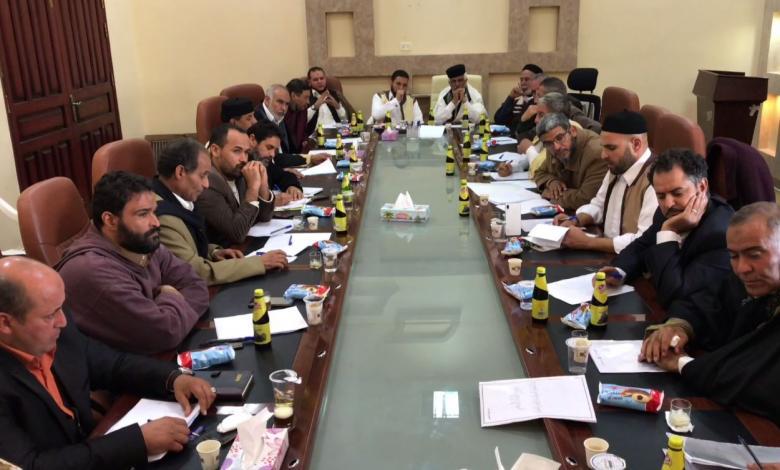 اجتماع قبلي في تيجي لتكوين فروع لقبائل الصيعان في مختلف المناطق الليبية