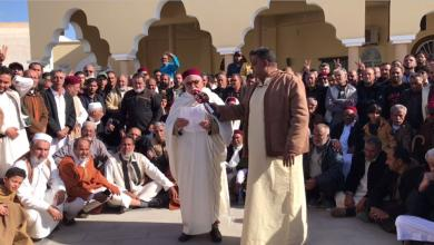صورة احتجاجات المدن الليبية ضد اتفاقية السراج وتركيا -((صور))