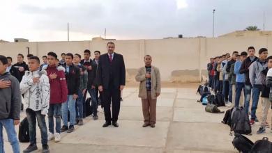 Photo of وزير التعليم في طابور الصباح – ((صور))