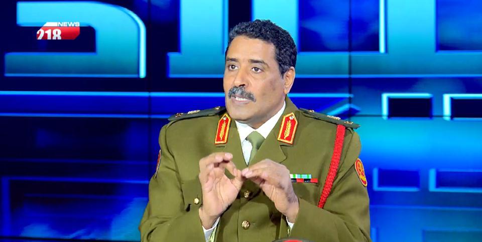 اللواء أحمد المسماري - الناطق الرسمي باسم القائد العام للجيش الوطني